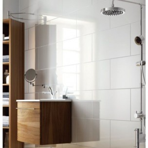 Arctic 250x200 - White Wall Tile 1264
