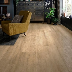 ClickLux Vinyl Flooring - Light Oak L10005