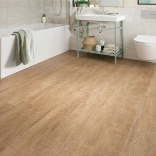 ClickLux Vinyl Flooring - Warm Maple L10008