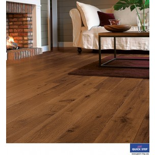 Quick-Step Perspective Laminate Flooring - Vintage Oak Dark Varnished UF1001