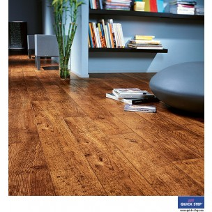 Quick-Step Perspective Laminate Flooring - Antique Oak Planks UF861