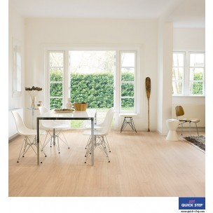 Quick-Step Perspective Wide Laminate Flooring - Oak White Oiled UFW1538