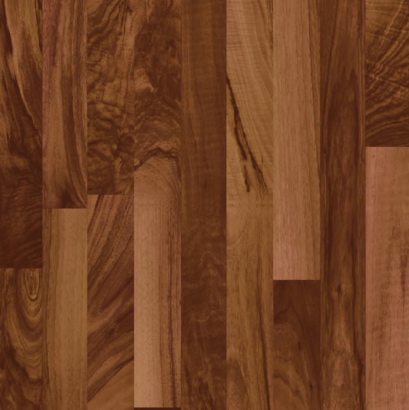 Laminate Flooring: 3 Strip Walnut Laminate Flooring