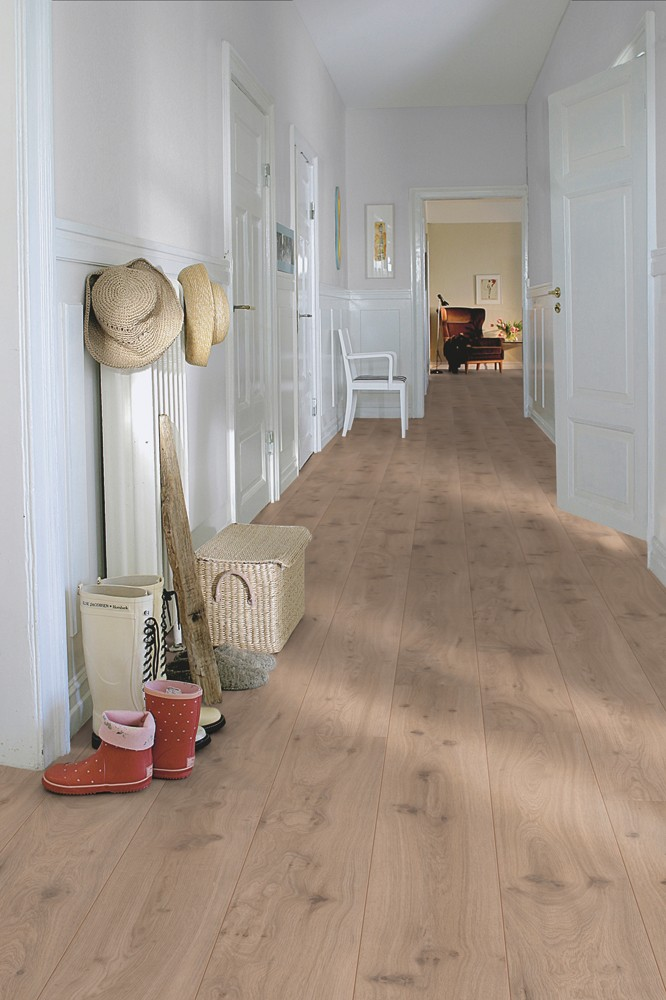 Pergo Living Expression, Long Plank 4V Modern Grey Oak Laminate ...