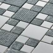 Gleam Grey - Mosaic Sheet 12084PK10