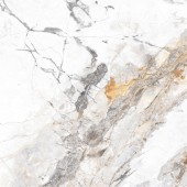 Invisible Marble Polished & Rectified Porcelain 600x600mm - Grey P11198