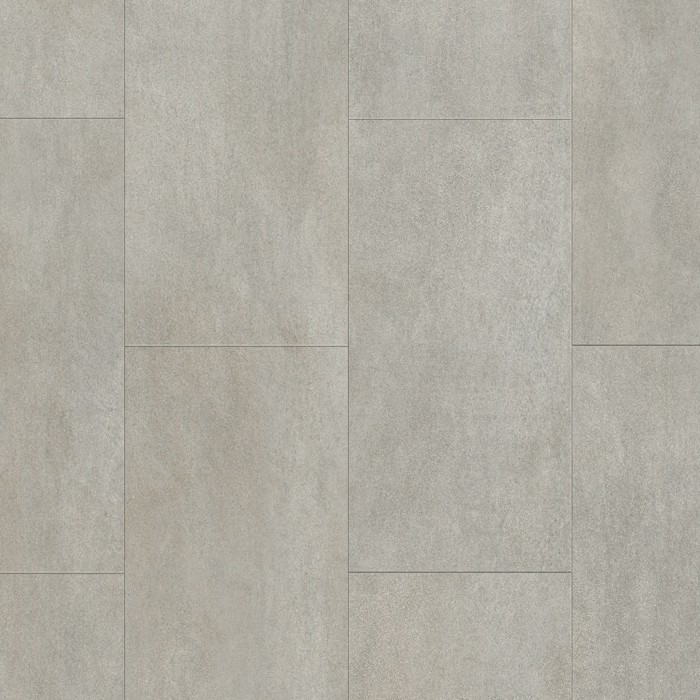 Optimum Click Warm Grey Concrete Vinyl Tile Uktcs